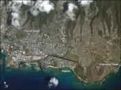 Honolulu as seen from the International Space Station