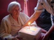 Mum's 78th on 4th December 2005. She will be 79 in 2 weeks. Ardencraig Care Home.