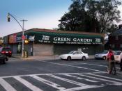 English: Kew Gardens Hills Jewish grocery store.