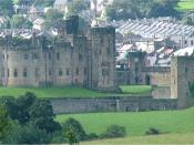 Alnwick Castle, the castle used for filming exterior shots of Hogwarts in the Potter films.