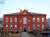 English: Story Grammar School, Marblehead, MA, built 1880.