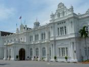 English: Penang City Hall (Dewan Bandaraya Pulau Pinang) in George Town, Penang, Malaysia.