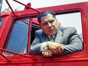 Who killed Jimmy Hoffa? it you think you know.- even if it's no more than a gut feeling - you should contact the FBI at State or National.level. One day, the truth will be unearthed.