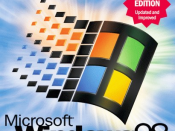 Cover of the Windows 98 Second Edition Upgrade (For Windows 95/3.1x) Box