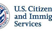 English: The logo of U.S. Citizenship and Immigration Services (English) Español: El logotipo del Servicio de Ciudadanía e Inmigración de los Estados Unidos (Inglés)