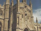 English: Northleach Parish Church, SS Peter and Paul, South Porch 1480AD.