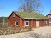 Birth place of Linnaeus at Råshult
