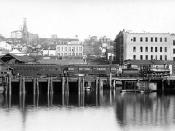 Seattle Lake Shore and Eastern Railway 1887