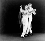 Dancers Vernon and Irene Castle. Gelatin silver print.