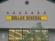 Dollar General Sign, Port Henry, NY
