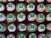 TD Waterhouse 25th Anniversary Cupcakes