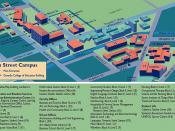 Otago Polytechnic, Dunedin Forth St Campus map