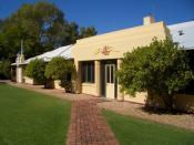Dispatch service building, Alice Springs