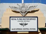 Français : Base du Royal Flying Doctor Service of Australia à Alice Springs