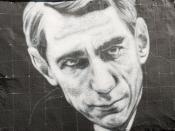Claude Shannon, painted portrait - la théorie de l'information _1010156