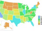 USA states nominal gdp