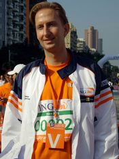 2007 ING Taipei Marathon: Ewout Steenbergen, currently Head of Corporate Strategy of ING Group.