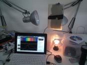 Spectrometer setup