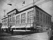 Goodwin's department store (future site of T. Eaton Co.), St. Catherine Street, Montreal, QC, ca. 1912