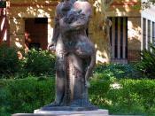 English: Statue of Gilgamesh, University of Sydney, Sydney, NSW, Australia