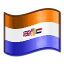 Nuvola Suid-Afrika Prinsevlag