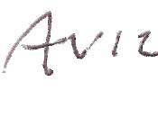 English: John Avildsen's signature