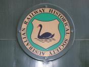 West Australian Historical Society emblem