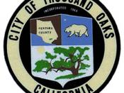 Official seal of City of Thousand Oaks