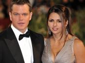 Français : 66ème Festival du Cinéma de Venise (Mostra), 6ème jour (07/09/2009) Tapis rouge avec Matt Damon (et sa femme) avec Steven Soderbergh pour le film : The Informant