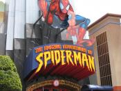 English: The Amazing Adventures of Spiderman Entrance Islands of Adventure