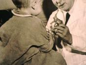 English: Sidney Farber, M.D. - founder of Children's Hospital Cancer Research Foundation in the 1950's and 1960's.