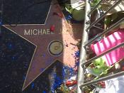 English: Cropped from :File:Michael Jackson Star on Hollywood Blvd.jpg Category:Michael Jackson