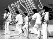 English: Publicity photo of the Jackson 5 from their 1972 television special.