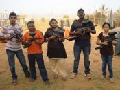 English: Paintball @ Kottivakam