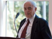 English: Robert Novak talking about his memoir book
