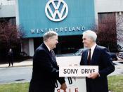 Governor Casey with Congressman John Murtha.