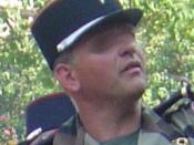 Contemporary French Army képi