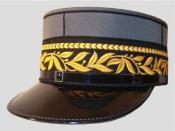 English: Uniform Képi of a Major General (