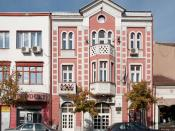 English: The National Employment Service building in Pirot, Serbia.