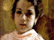 English: Portrait of a Young Girl