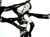 Madonna in the bondage inspired video for