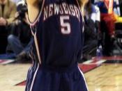 Jason Kidd at the free throw line.
