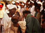 Sufis, ritual in Khartoum.
