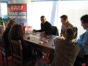 Pokeren bij Caz met Fajah Laurens