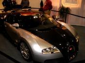 Description: Bugatti Veyron 16.4 - front view