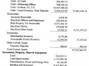 English: Statement of Cash Flows of San Narciso, Zambales