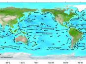 Major surface ocean currents.
