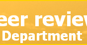 The Brazil Peer review Department Logo. Used images: