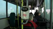 Nederlands: OV-chipkaart in een bus.