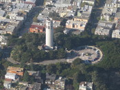 Oblique aerial of Coit Tower
